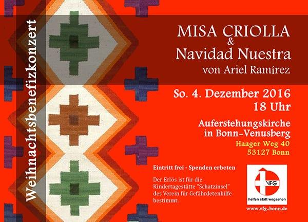 MISA CRIOLLA & Navidad Nuestra von Ariel Ramirez